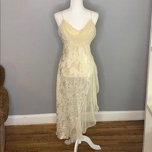 Vintage Victoria Secret Lingerie Dress Cream M